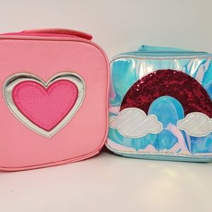 2 Girl's Lunch Boxes